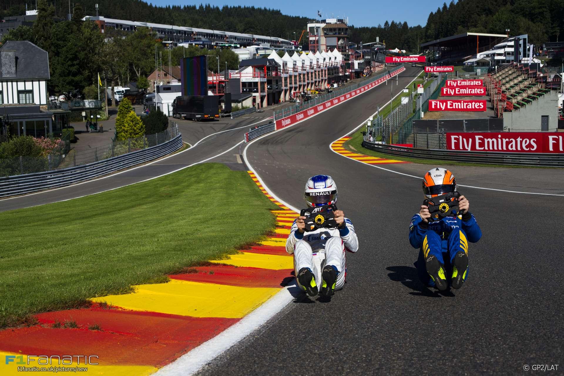 Sergey Sirotkin, Alex Lynn, Spa-Francorchamps, GP2, 2016