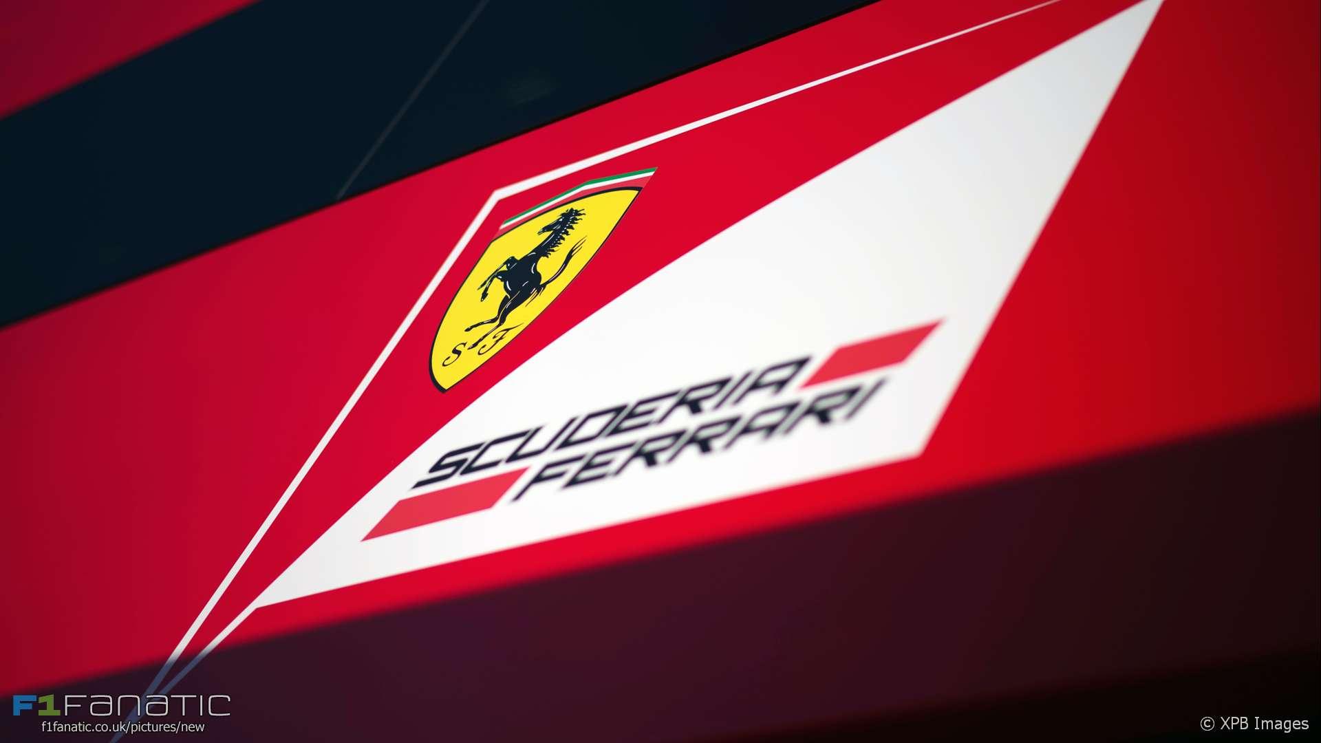Ferrari logo, 2016