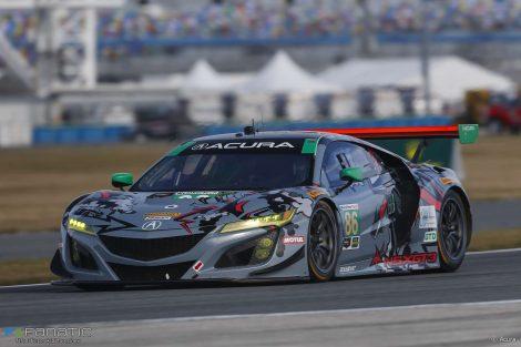 Katherine Legge/Alvaro Parente/Trent Hindman/AJ Allmendinger, Michael Shank Racing Acura NSX GT3, Daytona 24 Hours, 2018
