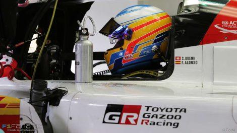 Fernando Alonso, Toyota, Bahrain, 2017