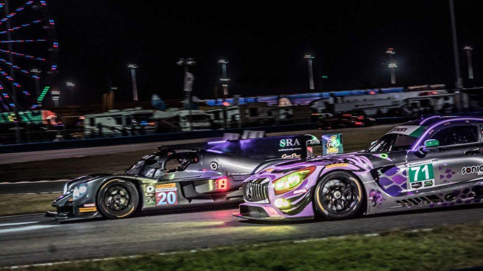 BAR1 Motorsports Multimatic/Riley LMP2, P1 Motorsports, Mercedes-AMG GT3, Daytona 24 Hours, 2018