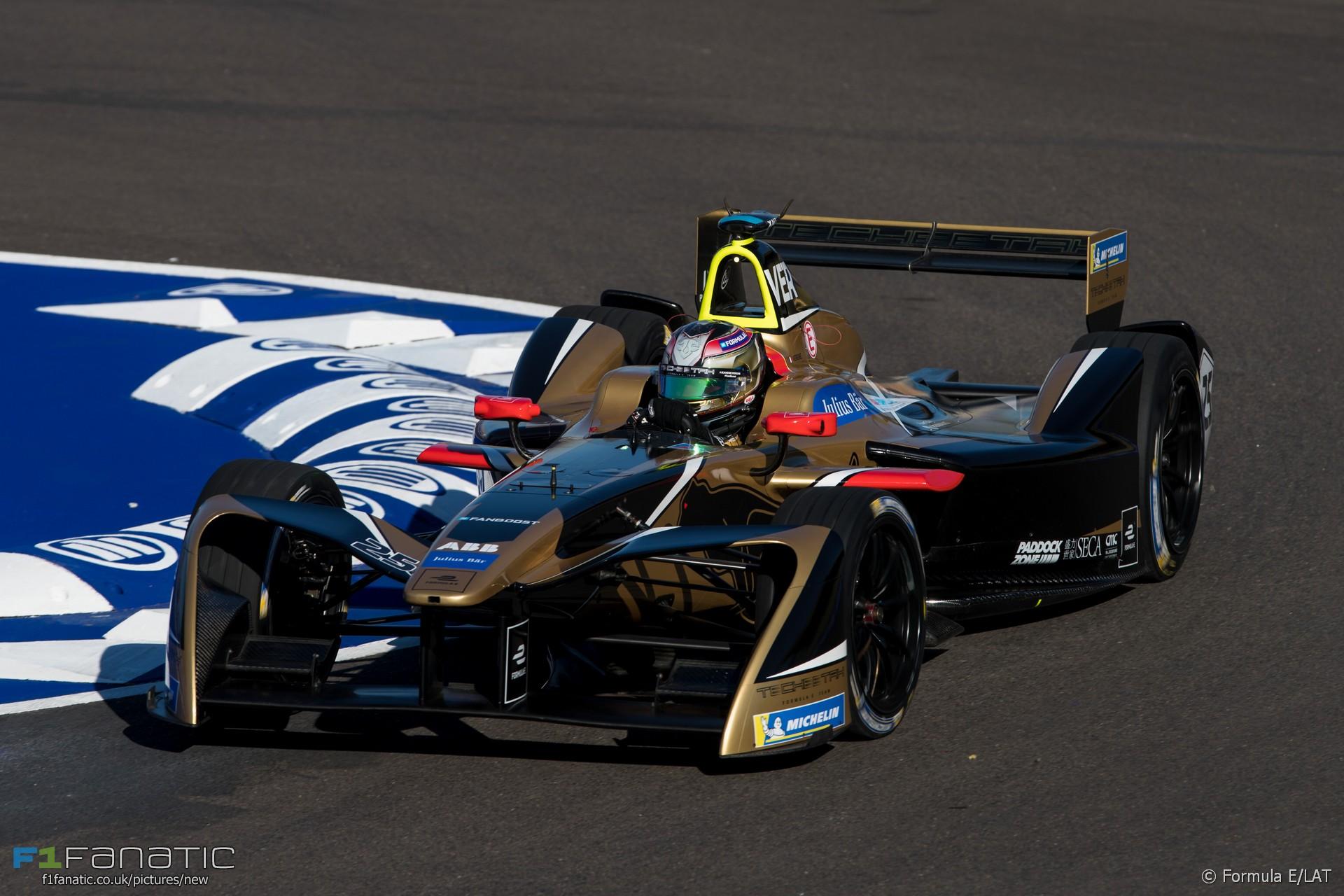 Jean Eric Vergne, Marrakesh, Formula E, 2018