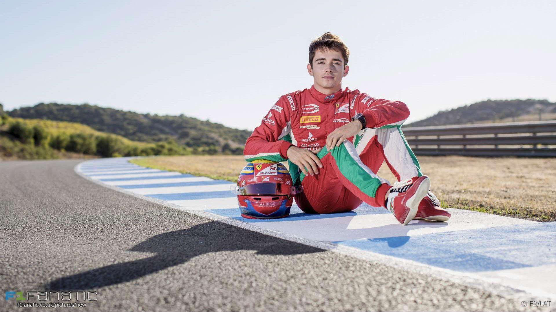 Charles Leclerc, Formula Two, Jerez, 2017
