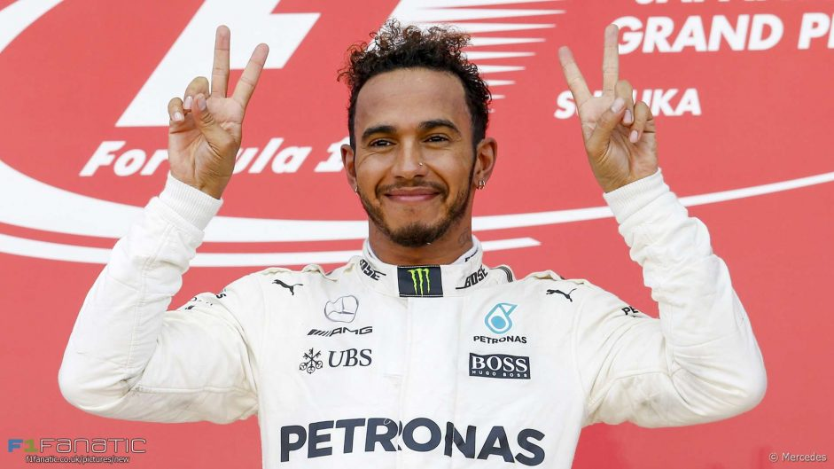 Undisputed champion: 10 titles name Hamilton top driver of 2017