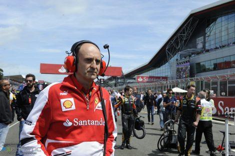 Luca Marmorini, Ferrari, Silverstone, 2013