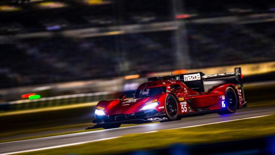 Mazda RT24-P. Daytona 24 hours, 2018