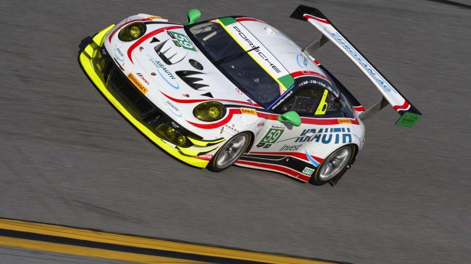 Manthey Racing Porsche 911 GT3 R, Daytona 24 Hours, 2018