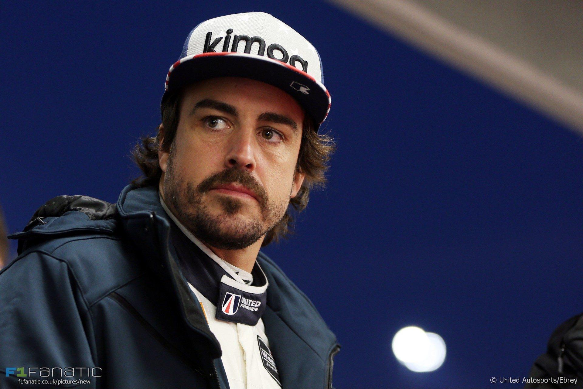 Fernando Alonso, United Autosports, Daytona, 2018