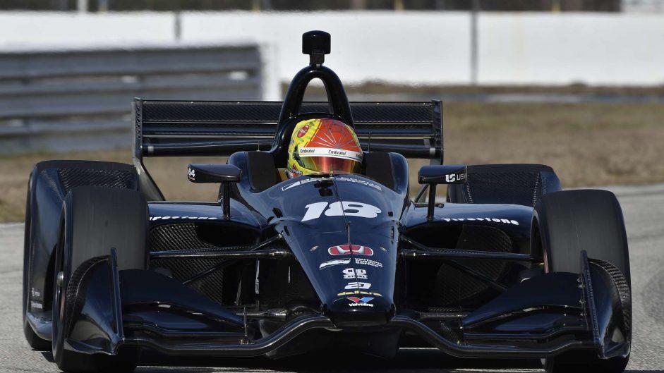 Pietro Fittipaldi, Dale Coyne, IndyCar, Sebring, 2018