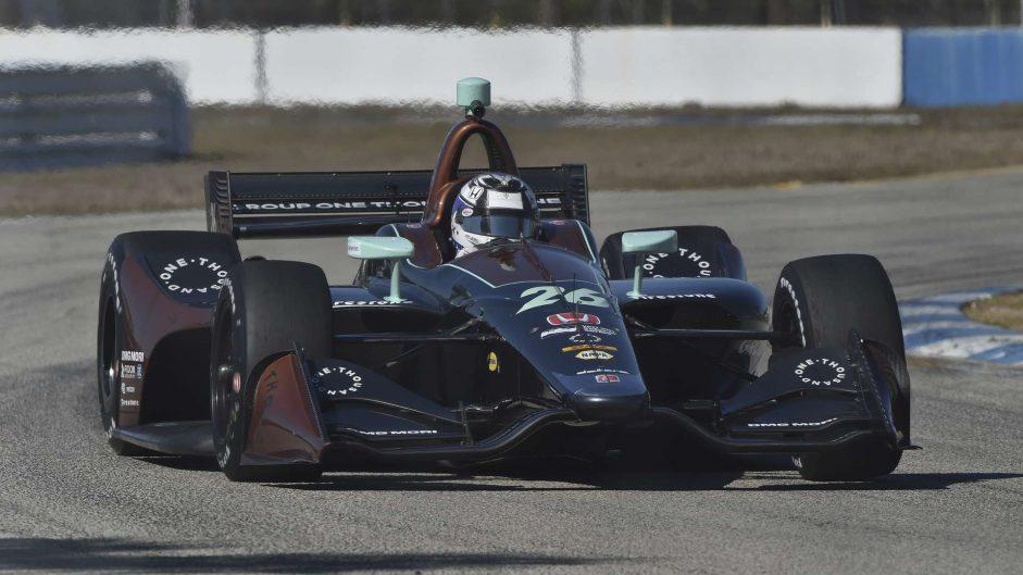 Zach Veach, Andretti, Sebring, 2018