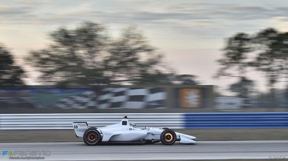 Max Chilton, Carlin, IndyCar, Sebring, 2018