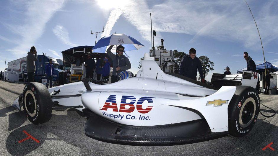 Tony Kanaan, Foyt, IndyCar, Sebring, 2018