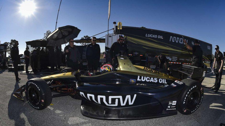 James Hinchcliffe, Schmidt Peterson, IndyCar, Sebring, 2018