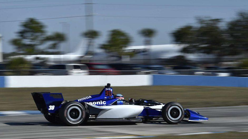 Takuma Sato, RLL, IndyCar, Sebring, 2018