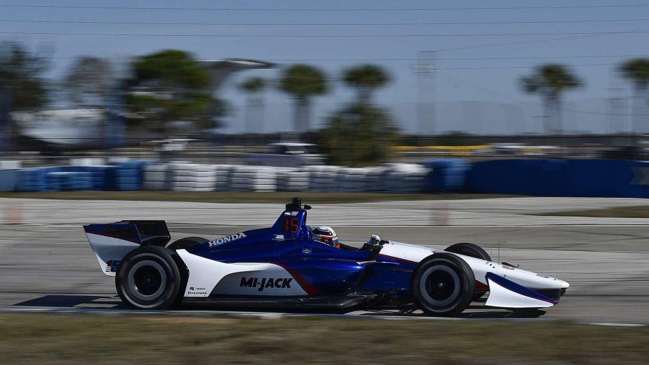 Graham Rahal, RLL, IndyCar, Sebring, 2018