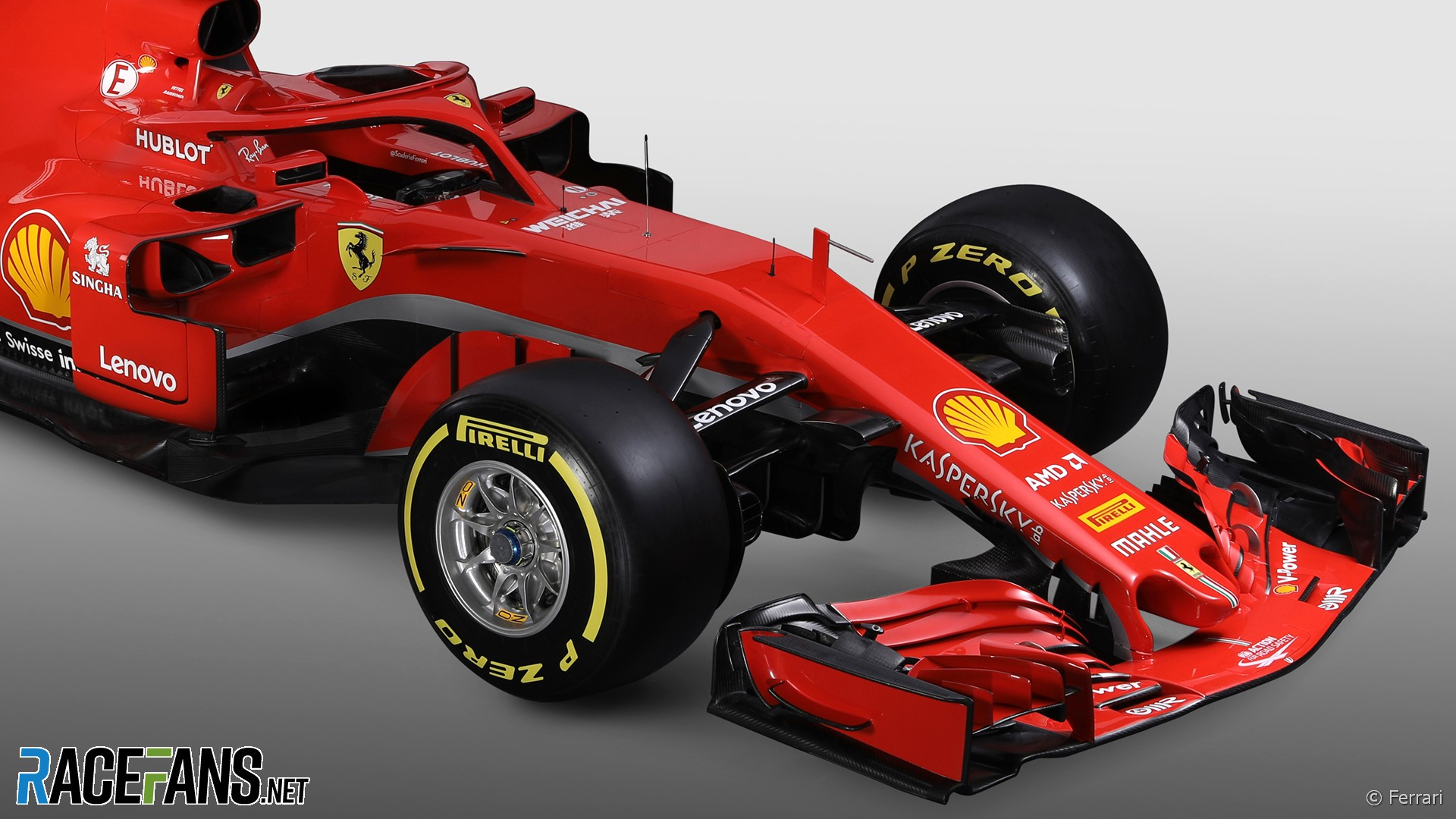 ferrari sf71h 2018 racefans. Black Bedroom Furniture Sets. Home Design Ideas
