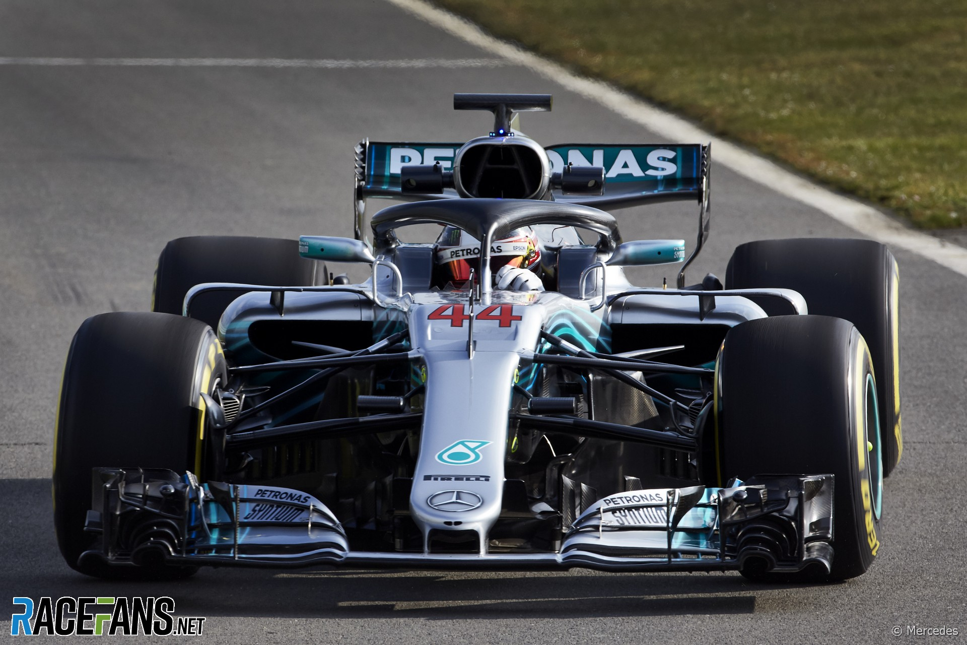 Mercedes uncover their new F1 car for 2018 · RaceFans