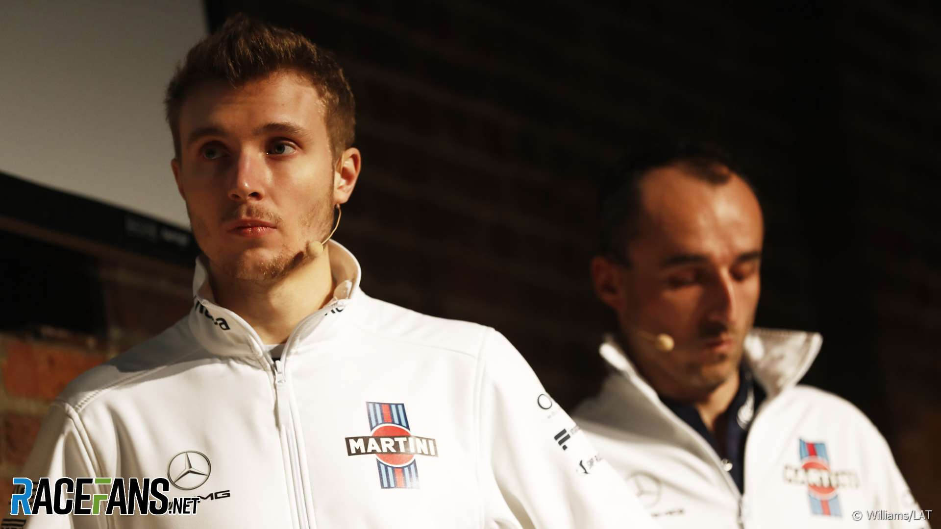 Sergey Sirotkin, Robert Kubica, Williams, 2018