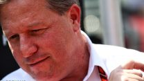 Brown takes over at McLaren Racing after restructuring