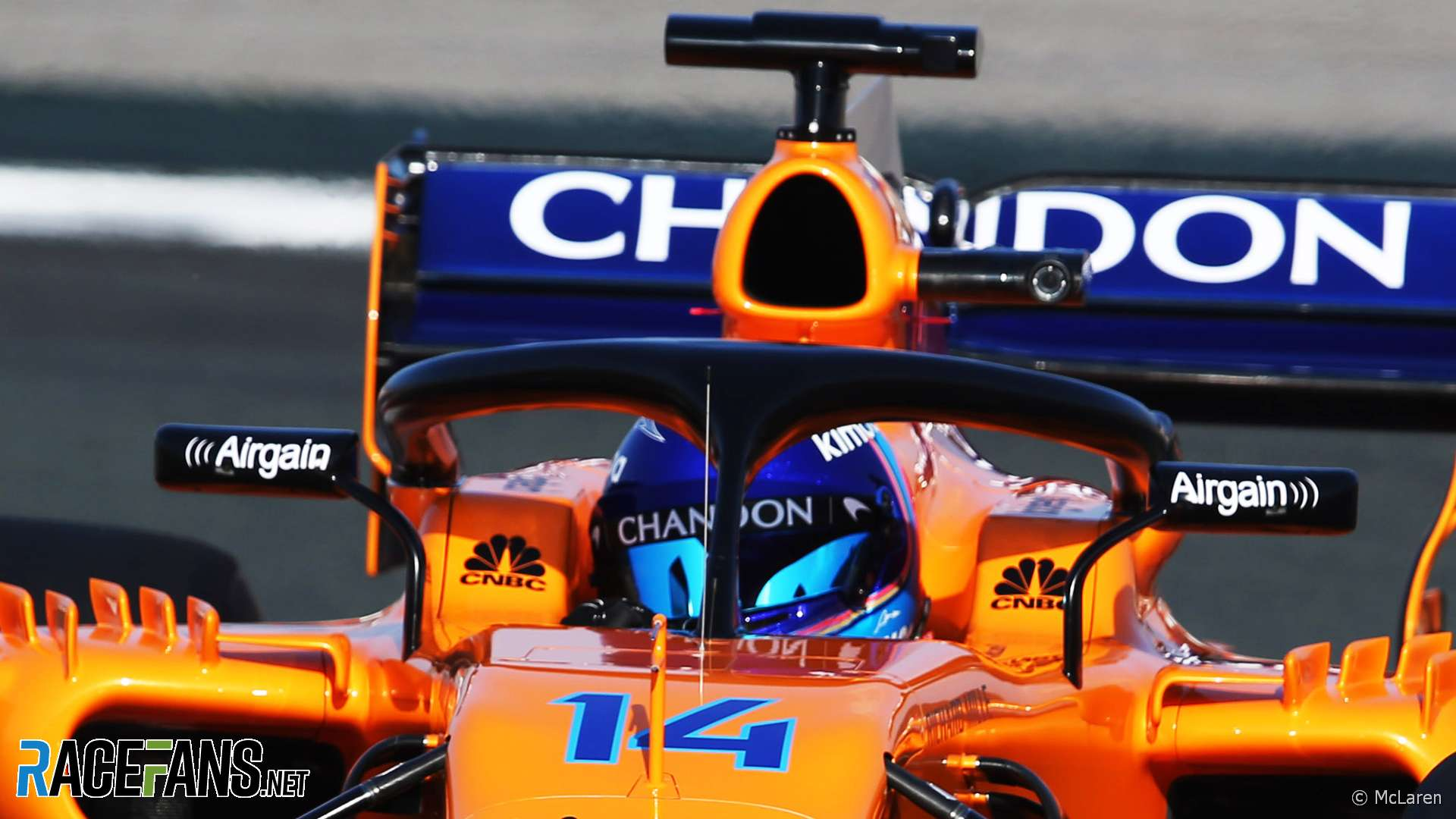 Fernando Alonso, McLaren, 2018