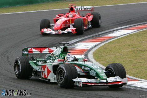 Christian Klien, Jaguar, Shanghai, 2004
