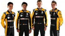 Jack Aitken, Carlos Sainz Jnr, Nico Hulkenberg, Artem Markelov, Renault, 2018