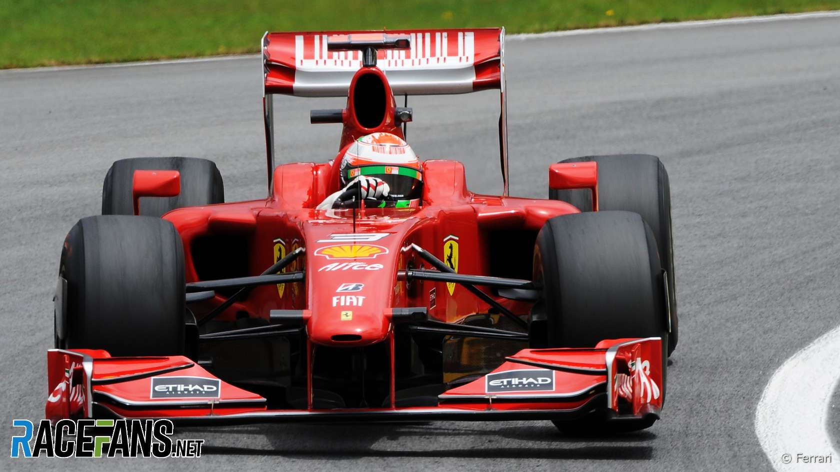 Giancarlo Fisichella Ferrari Interlagos 2009 & Ferrari tipped to return to an u0027all-redu0027 F1 livery · RaceFans