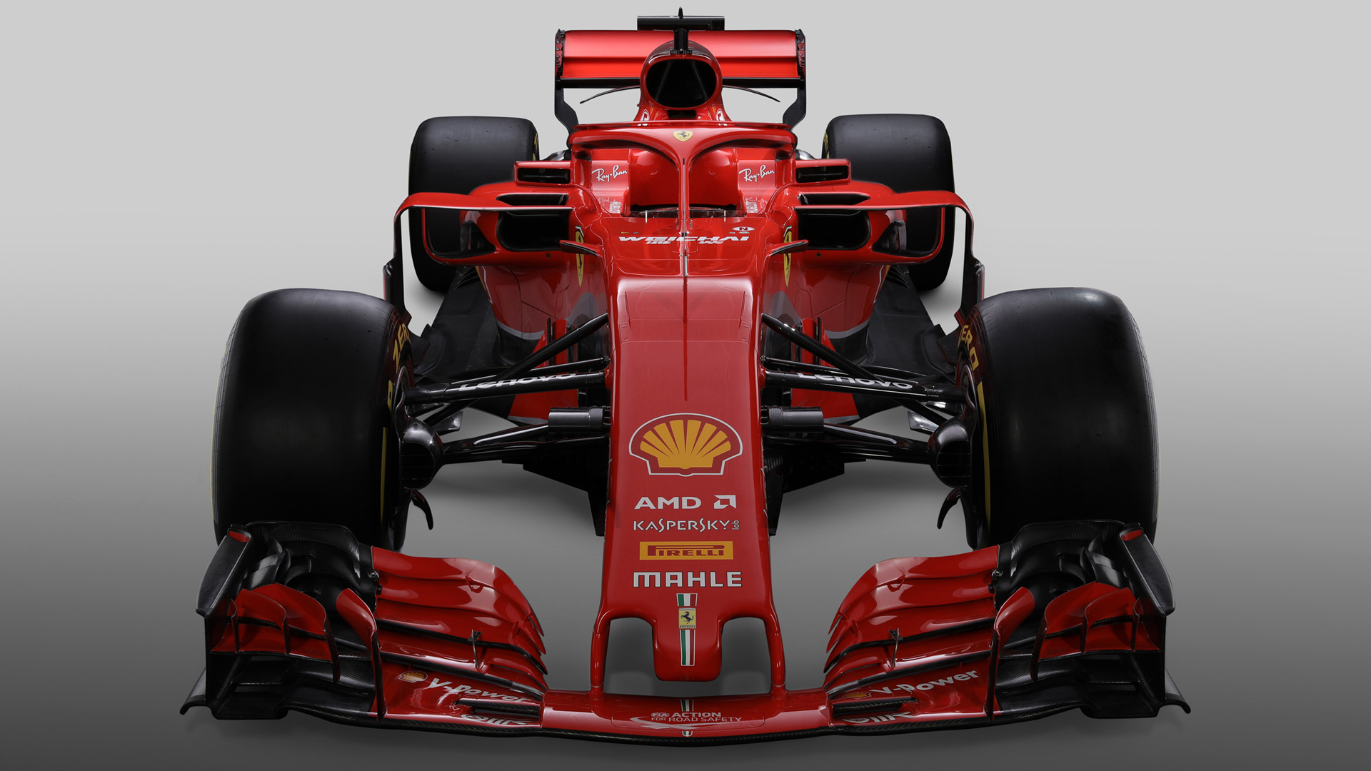 ferrari unveil their new f1 car for 2018 racefans. Black Bedroom Furniture Sets. Home Design Ideas