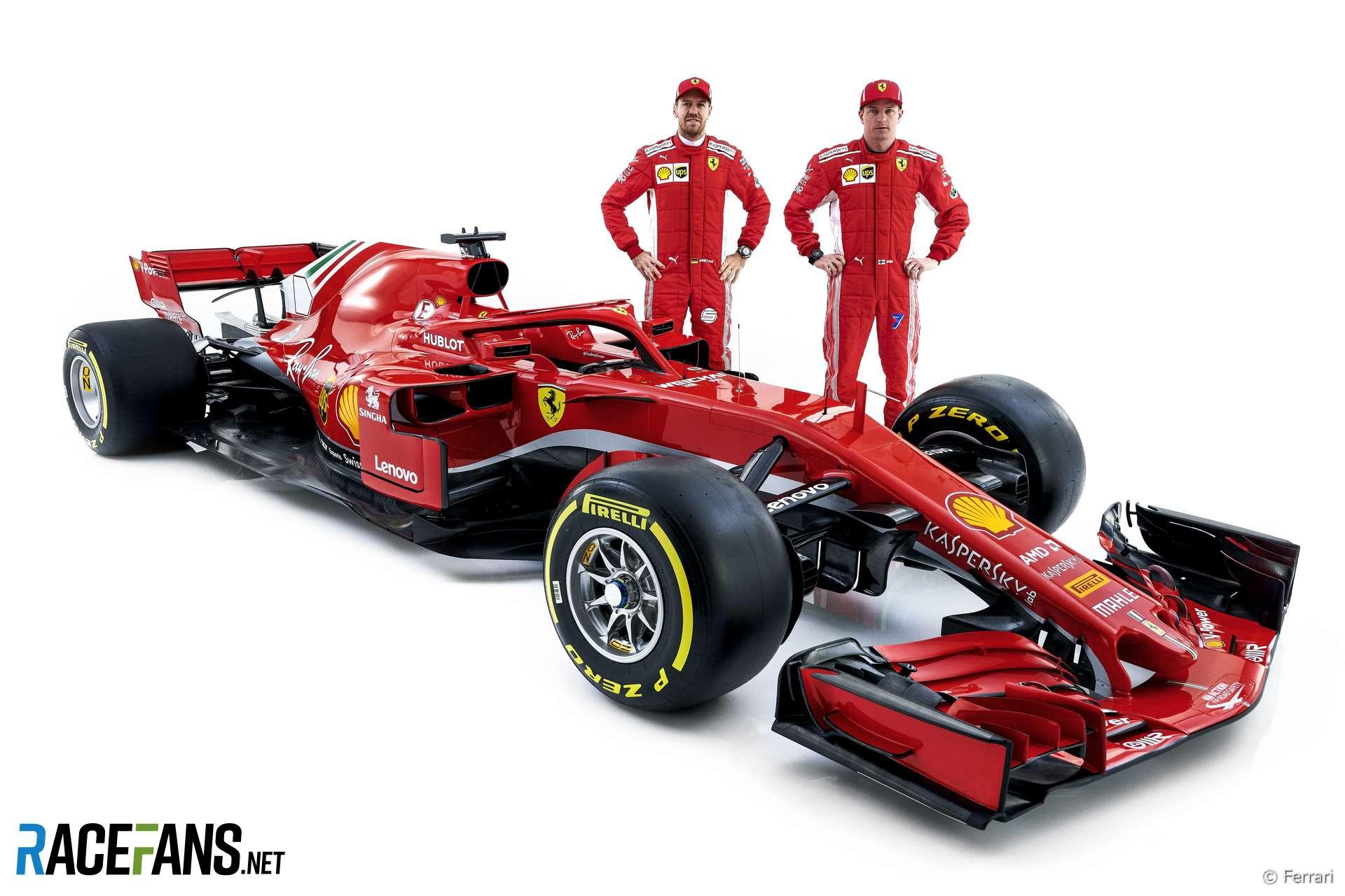 Ferrari SF17h, 2018