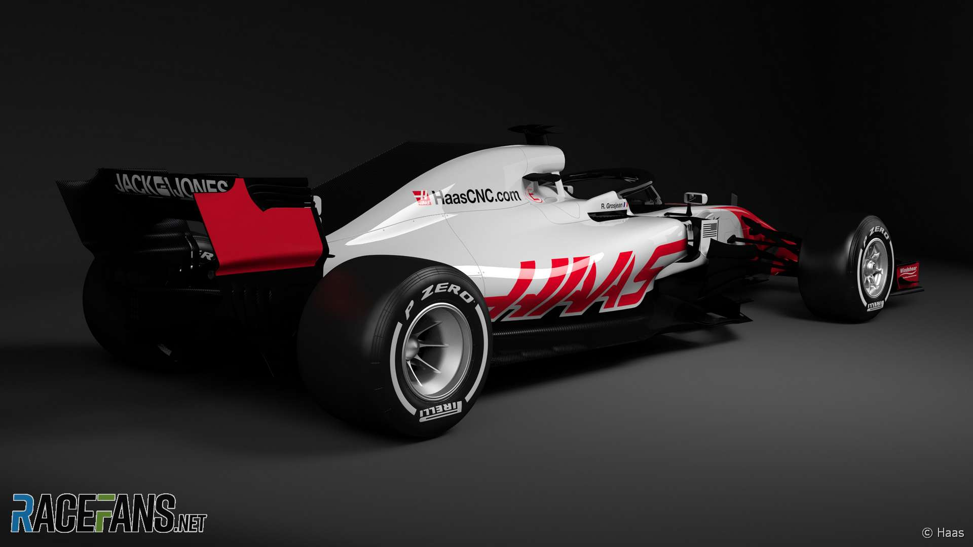 Haas VF-18, 2018