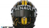 Nico Hulkenberg helmet, Renault, 2018