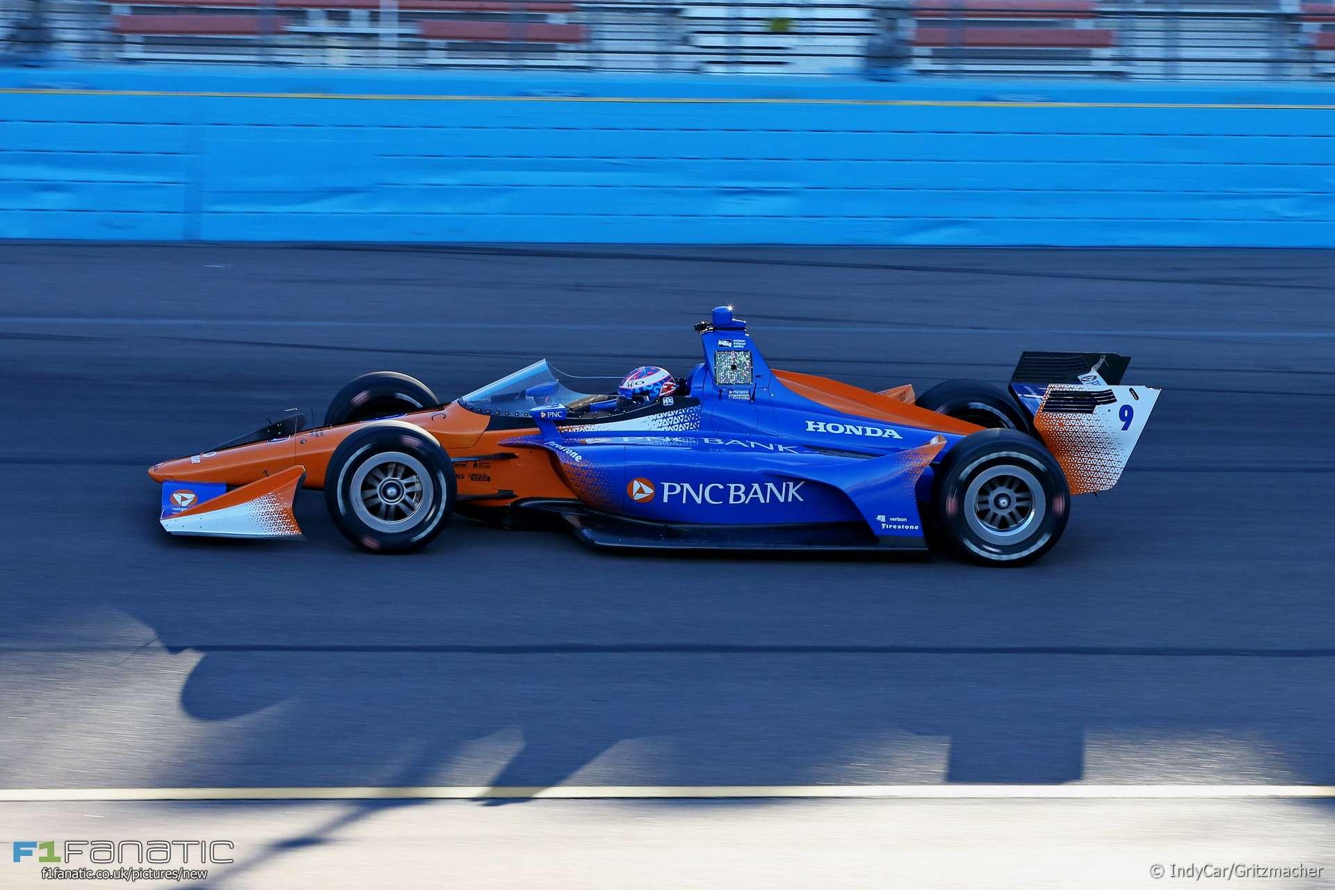 Scott Dixon Indycar Windscreen Test Phoenix 2018 183 Racefans