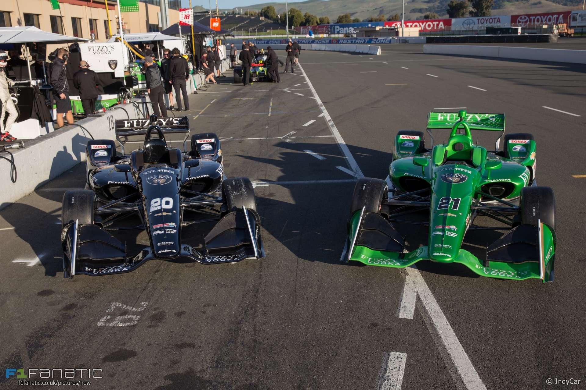 Ed Carpenter Racing, IndyCar, Sonoma, 2018