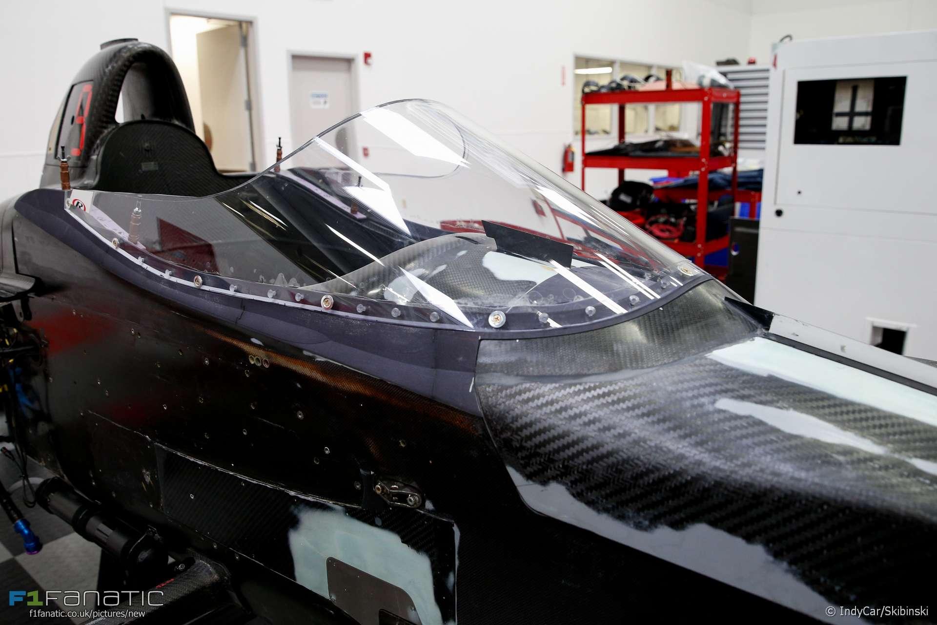 IndyCar windscreen, 2018