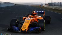 First pictures of McLaren's Renault-powered MCL33 in new livery revealed