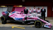 Force India's new F1 car for 2018 breaks cover
