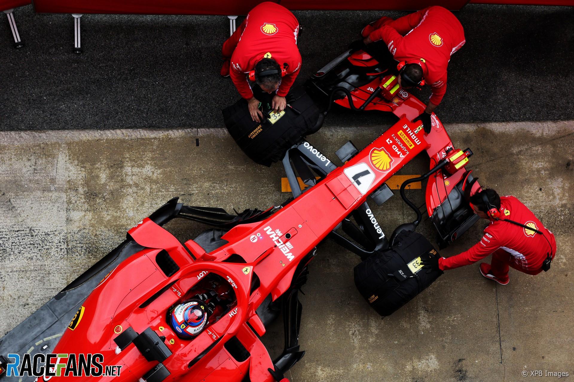 Kimi Raikkonen, Ferrari, Circuit de Catalunya, 2018
