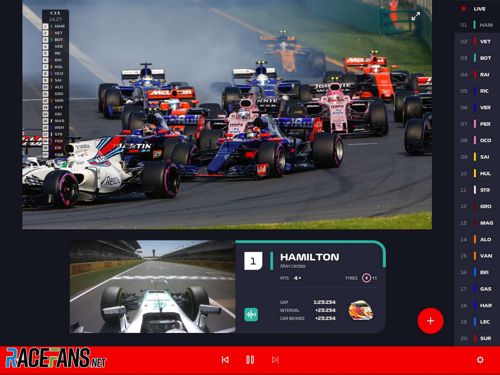 Formula One to launch F1 TV streaming service