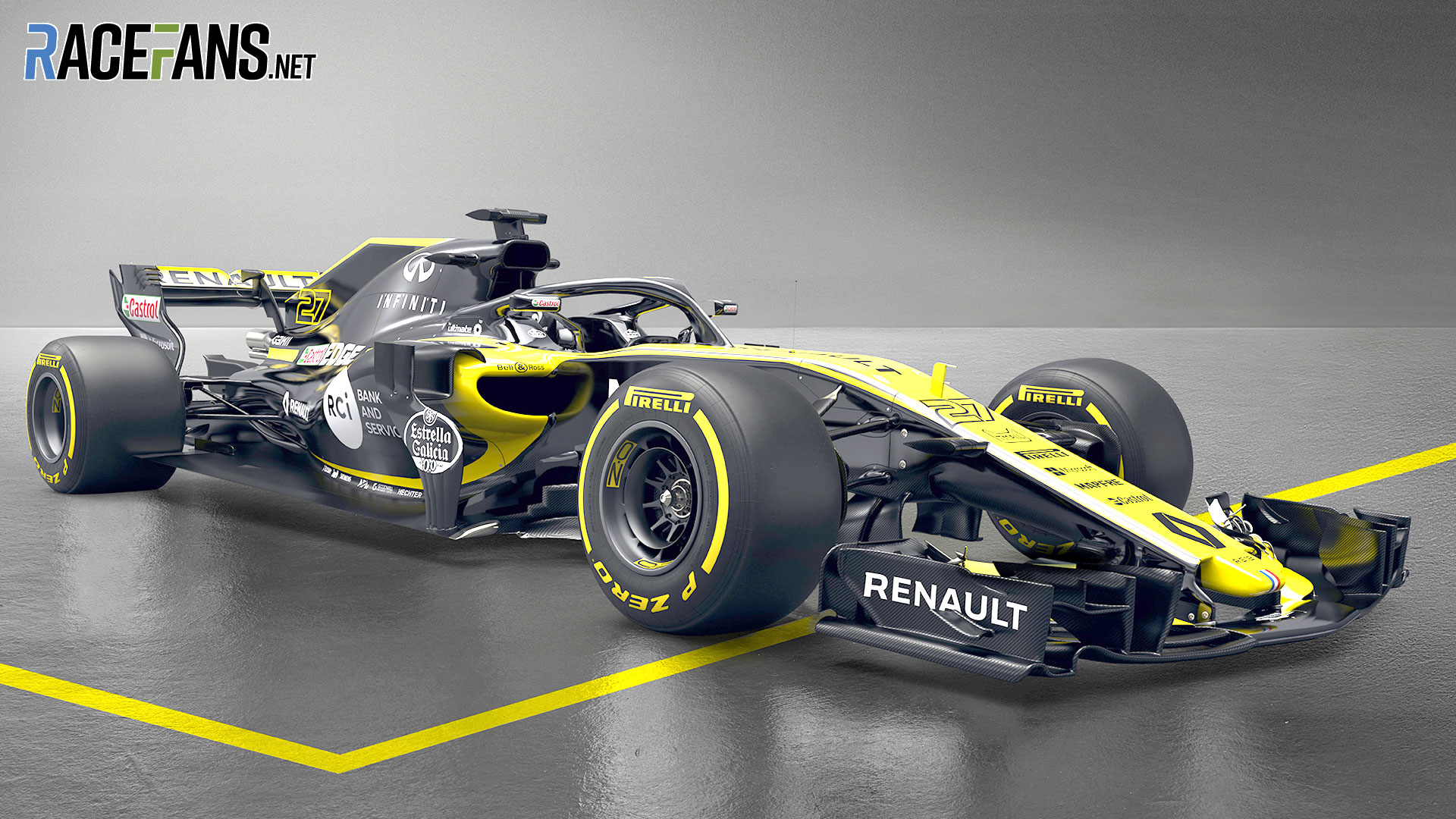 Renault's new F1 car for 2018 revealed · RaceFans