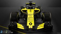 Renault's new F1 car for 2018 revealed