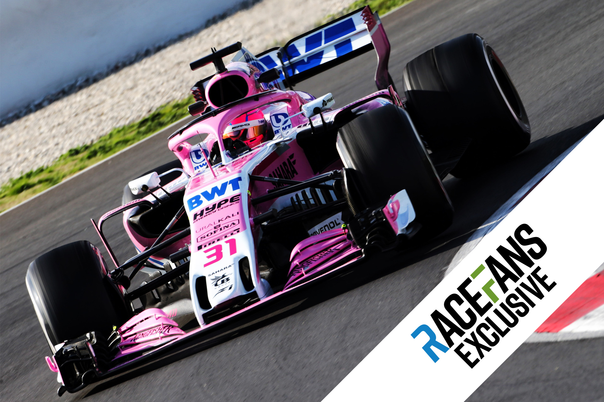 Force India exclusive