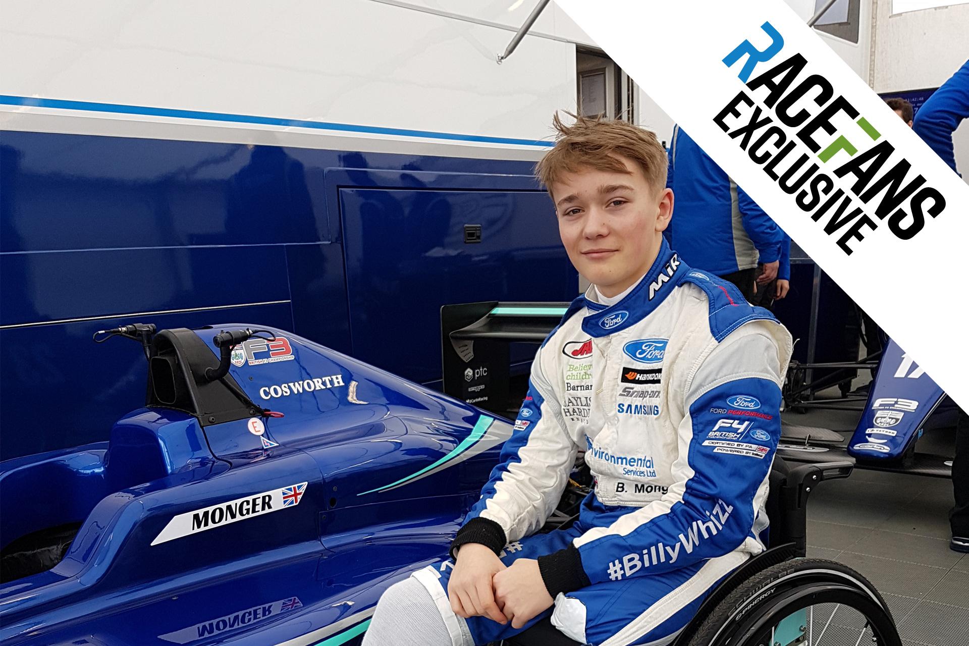 RaceFans exclusive: Billy Monger