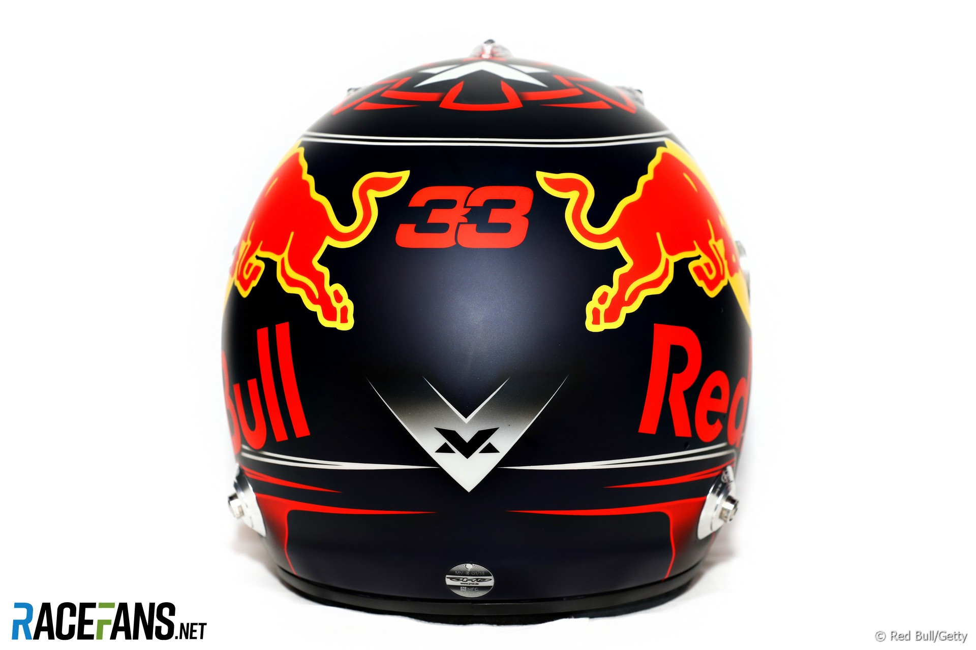 max verstappen red bull helmet 2018 racefans. Black Bedroom Furniture Sets. Home Design Ideas