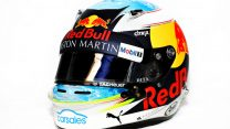 Daniel Ricciardo, Red Bull, helmet, 2018