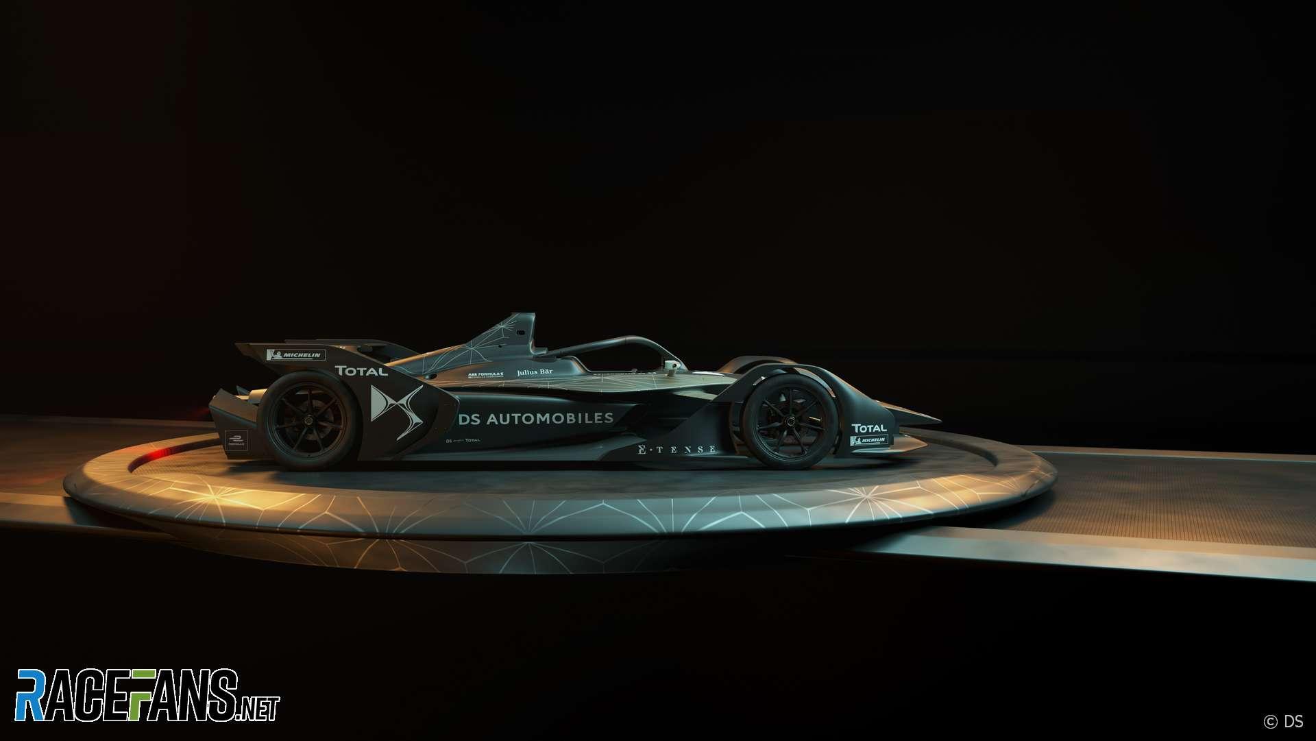 ds e 19 formula e car  u00b7 racefans