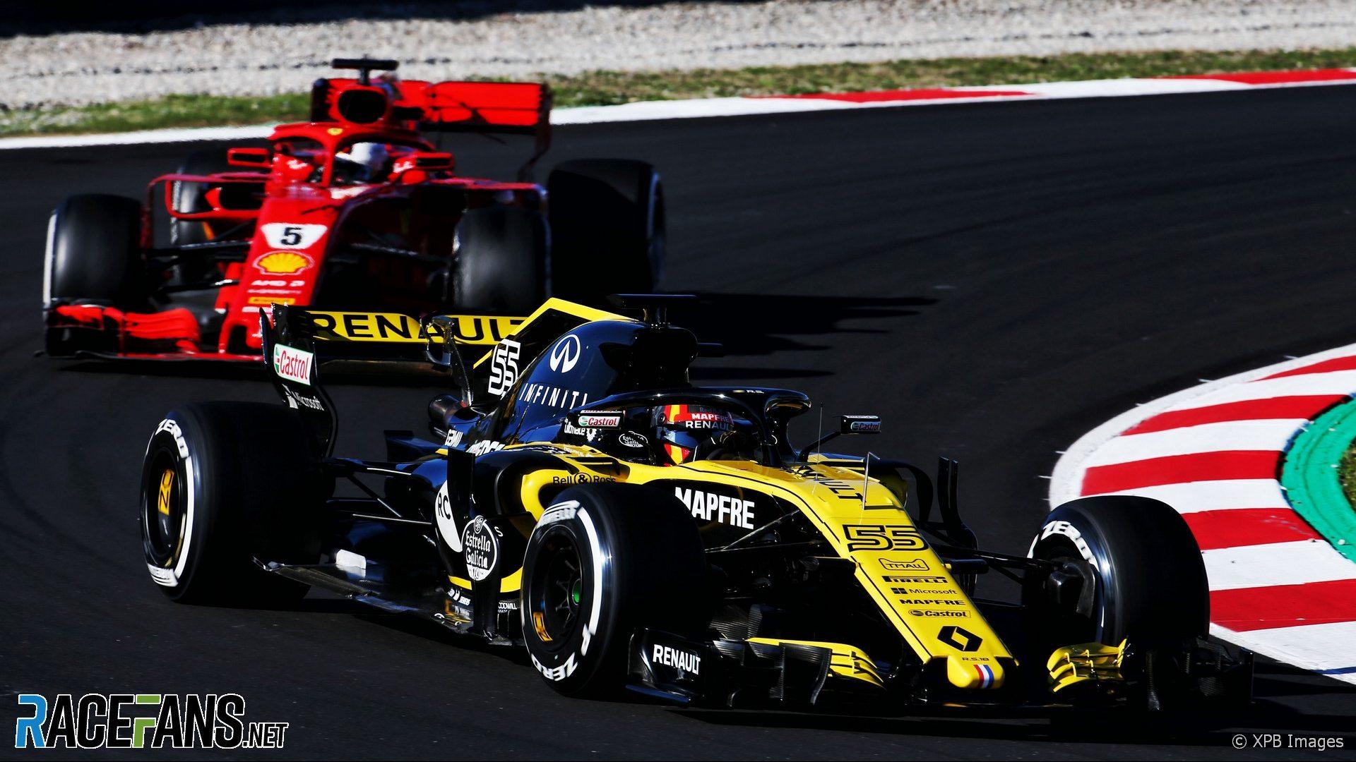 Carlos Sainz Jnr, Renault, Circuit de Catalunya, 2018