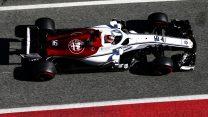 Charles Leclerc, Sauber, Circuit de Catalunya, 2018