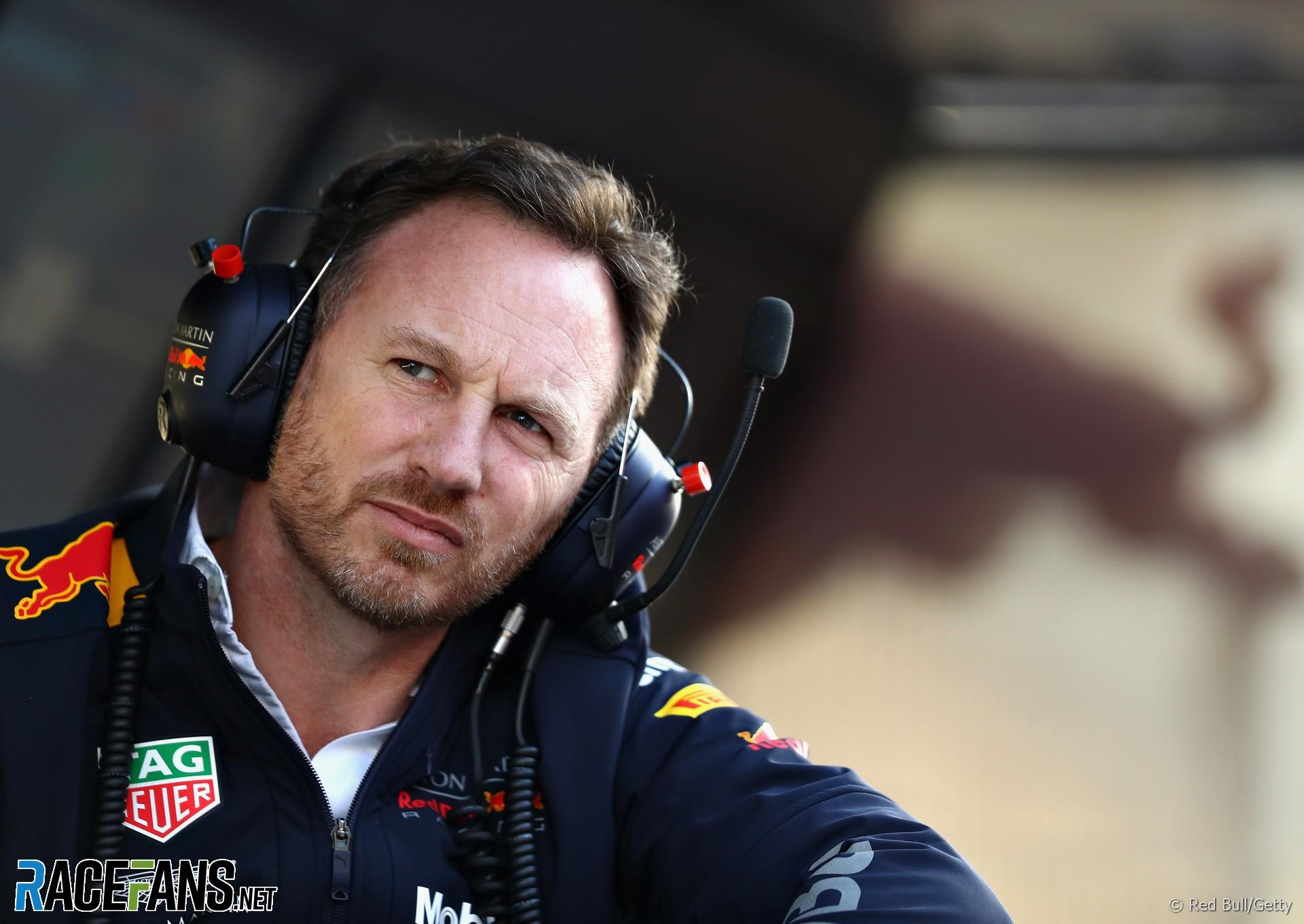 Christian Horner, Red Bull, Circuit de Catalunya, 2018