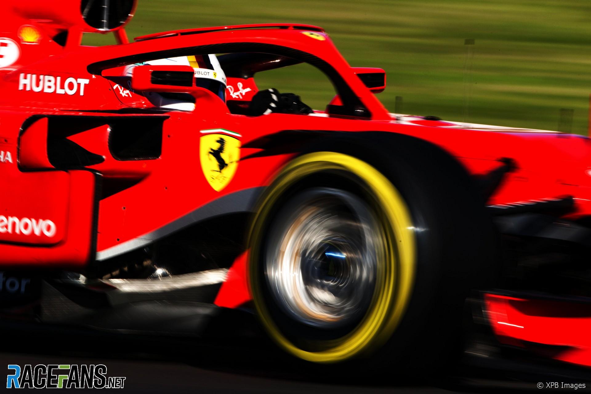 Sebastian Vettel, Ferrari, Circuit de Catalunya, 2018