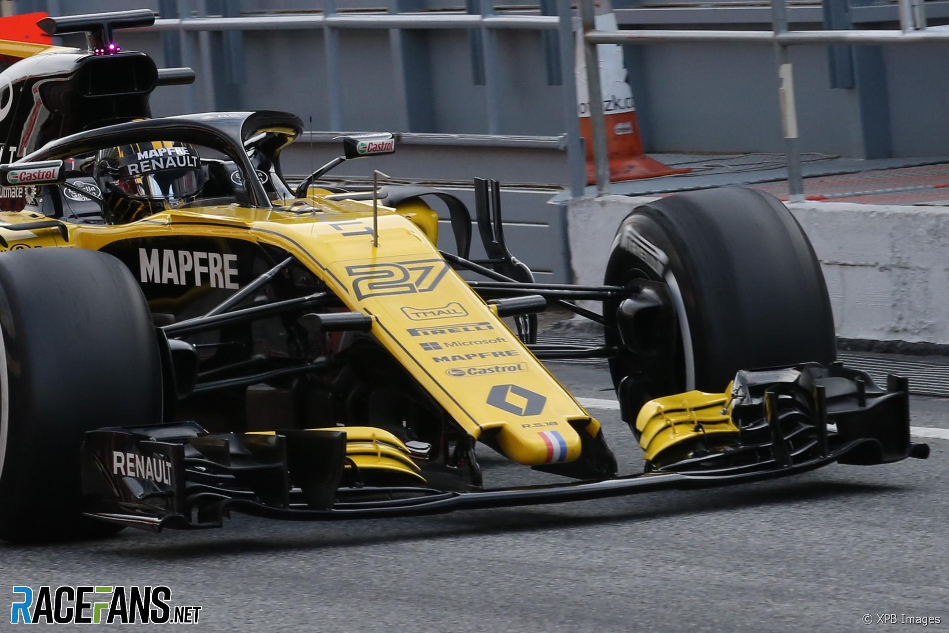 Renault, Circuit de Catalunya, 2018